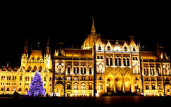 Parlament, Kossuth tér, karácsonyfa
