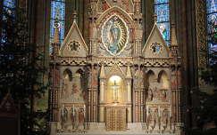 Mátyás templom karácsonyi oltára,Budapest
