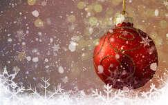 Karácsonyi dísz, montázs, fantázia, ünnep