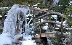 jég jégcsap tél