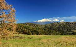 szicília olaszország hegy vulkán etna