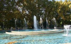magyarország margit-sziget ősz budapest szökőkút