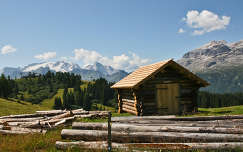 Haziko az Olasz Alpokban
