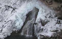 Miskolc-Lillafüred, Szinva-vízesés. Fotó: Kupcsik Sarolta