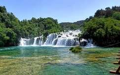krka vízesés horvátország