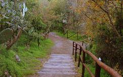 út kertek és parkok szicília kerítés olaszország