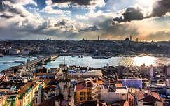 Isztambul a Galata toronyból
