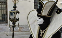 Fekete-fehér...Velence, Olaszország