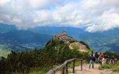 út ház alpok németország berchtesgaden hegy