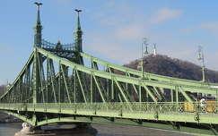 Budapest,Szabadság híd a Gellértheggyel
