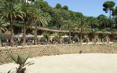 Barcelona.Gaudi Güell parkja.