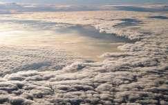 légifelvétel felhő