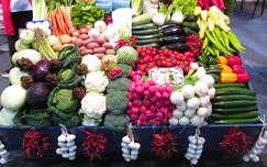 piac zöldség