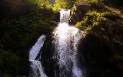 Triberg-vízesés, Németország, Fekete-erdő