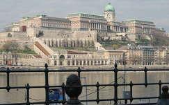 Budai vár látképe,Budapest