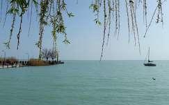 tavasz, víz, Balaton, magyarország