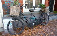 Amszterdami csendélet kerékpárral