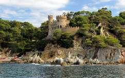 The Castle of Lloret de Mar