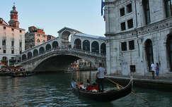 Gondolas Velenceben, Olaszorszag