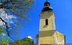 várak és kastélyok füzéri vár magyarország templom