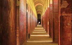 folyosó a Monostori erődben