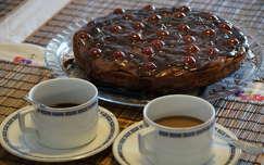 Lúdláb torta és Zsolnay porcelán