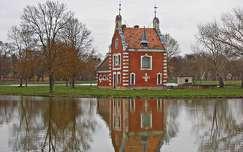 Dég, Festetics-kastély parkja, Hollandi ház