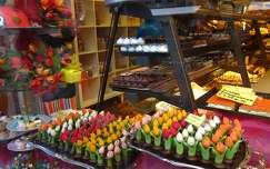 HAARLEM - HOLLAND, bloemenfestijn IN MARSEPEIN