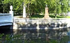Sóhajok hídja és az örökmécses, Balatonalmádi, magyarország