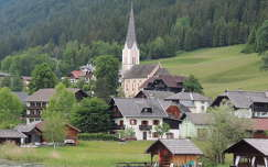 Weissensee, Ausztria,Karintia