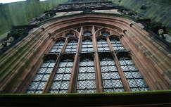 Katedrális ablak. Coventry, Egyesült Királyság.