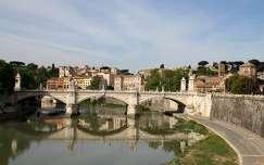 Olaszország, Róma - Vittorio Emanuele-híd