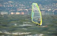 magyarország windszörf balaton nyár tó