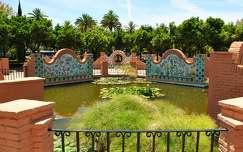 Málaga, Andalúcía, Jardines de Pedro Luis Alonso, Spanyolország