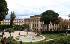 Olaszország, Szicília, Catania - Bellini kert