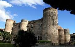 Olaszország, Szicília, Catania - Ursino-kastély