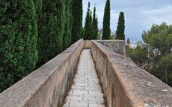 Málaga, Andalúcía, Castillo de Gibralfaro, Spanyolország