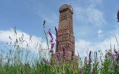 Balatonkenese, Soós-hegyi emlékoszlop