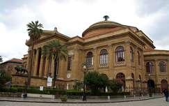 Olaszország, Szicília, Palermo - Teatro Massimo