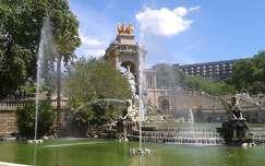 Barcelona, Cascada, Parc de la Ciutadella