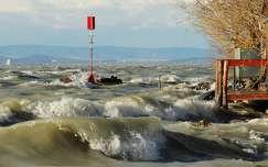balaton hullám tó magyarország