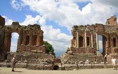 Olaszország, Szicília, Taormina - Görög színház