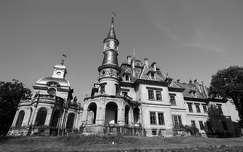 fekete-fehér magyarország turai kastély várak és kastélyok