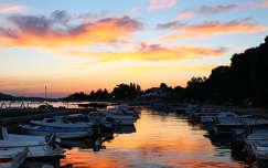 Naplemente, Horvátország