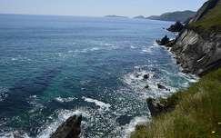 kövek és sziklák tengerpart tenger írország