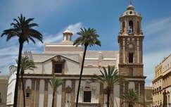 Cadíz, Iglesia de Santiago, Andalúzia, Spanyolország