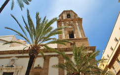 Cad�z, Iglesia de Santiago, Andal�zia, Spanyolorsz�g