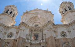 Cadíz, Catedral Nueva, Andalúzia, Spanyolország