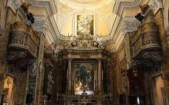 Olaszország, Nápoly - Santa Maria delle Anime templom