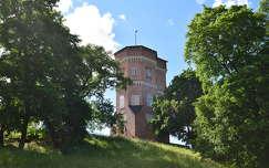 Gótikus torony, Drottningholm, Svédország